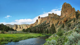 Smith Rock Park Royalty Free Stock Photos