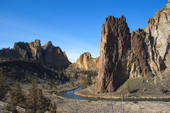 Smith Rock State Park Arkivfoto