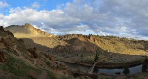 Smith Rock State Park Arkivbilder