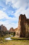 Smith Rock State Park royaltyfria bilder