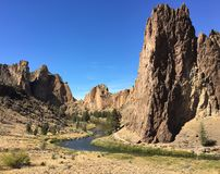 Smith Rock State Park Stockfotos