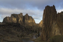 Smith Rock State Park Photo stock