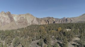 Smith Rock State Park stock video footage