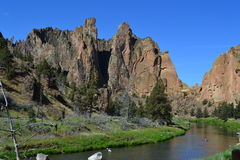 Smith Rock State Park Oregon Stock Images