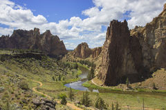 Smith Rock State Park Royalty Free Stock Photos