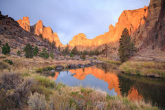 Smith Rock State Park Royalty Free Stock Photo