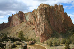 Smith Rock State Park - Terrebonne, Oregon Imagenes de archivo