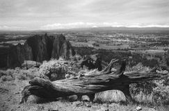 Smith Rock top Royalty Free Stock Photos