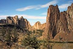 Smith skały stanu park - Terrebonne, Oregon Obrazy Royalty Free