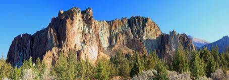 Κρατικό πάρκο βράχου Smith - Terrebonne, Όρεγκον Στοκ εικόνα με δικαίωμα ελεύθερης χρήσης
