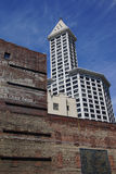 The Smith Tower in Pioneer Square Stock Photography