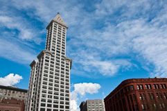 Smith Tower of Seattle Royalty Free Stock Photography