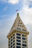 Smith Tower in Seattle Royalty Free Stock Photo