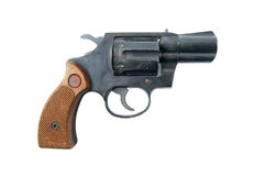 Smith-u. Wesson-Pistole Stockbild