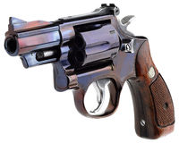 Smith wesson 357. Smith Wesson .357 white background Stock Photos
