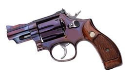 Smith Wesson .357 short Royalty Free Stock Photos