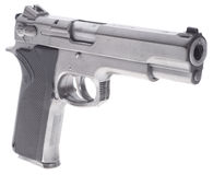 Smith And Wesson handgun Royalty Free Stock Image