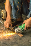 Smith working. Royalty Free Stock Images