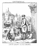 Smithfield—Cats' Meat, Dogs' Meat Stock Image