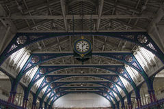 Smithfield-Marktklok, Londen Stock Afbeeldingen