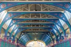 Smithfield Poultry Market. Symmetric arch of the Smithfield Market in London royalty free stock image