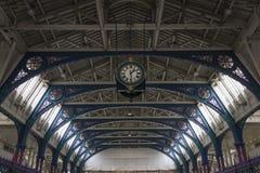 Smithfield rynku zegar, Londyn Obrazy Stock