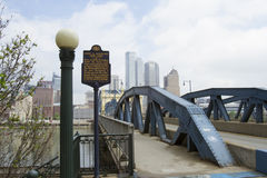 Smithfield street bridge Stock Photography