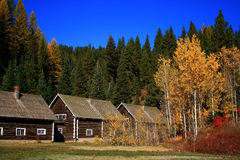 Smiths Ferry Cabins Royalty Free Stock Photography