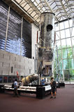 Smithsonian Air and Space Museum. An image of the Hubble Telescope at the Smithsonian Air and Space Museum in Washington DC Stock Photos