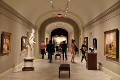 Smithsonian American Art Museum in Washington, DC Stock Images