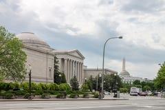 Smithsonian Amerikaans Art Museum Washington gelijkstroom Royalty-vrije Stock Foto's