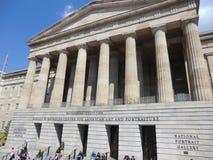 Smithsonian amerikan Art Museum på Washington DC Arkivfoto