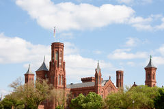 Smithsonian castle Royalty Free Stock Image