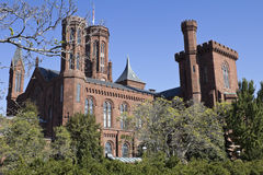 Smithsonian Castle Royalty Free Stock Photography