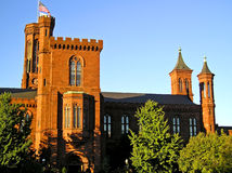 Smithsonian Castle 3 - Washington, DC Stock Photos