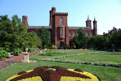 Smithsonian Castle Stock Image