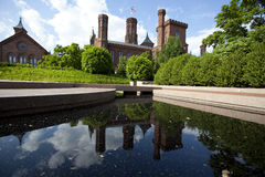 Smithsonian castle museum Royalty Free Stock Photography