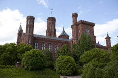 Smithsonian castle museum Stock Image