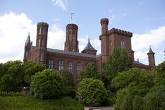 Smithsonian castle museum Stock Image