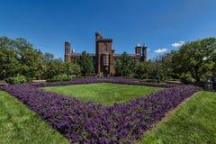 Smithsonian castle Stock Image