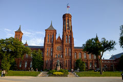 Smithsonian Castle in Washington, D.C. Royalty Free Stock Image