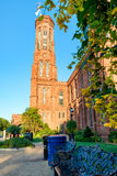The Smithsonian Castle in Washington D.C. Stock Photography