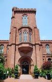 Smithsonian Castle in Washington DC stock photography