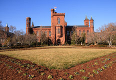 Smithsonian Castle in Washington, DC Stock Image