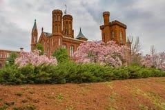Smithsonian Castle Washington DC Stock Image