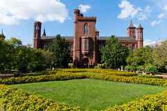 Smithsonian Castle. In Washington DC, USA Stock Images