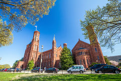 Smithsonian Castle in Washington DC Royalty Free Stock Image