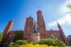 Smithsonian Castle in Washington DC Stock Image
