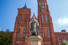 Smithsonian Castle in Washington DC Stock Images