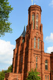 Smithsonian Castle in Washington DC, USA Stock Photography